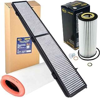 Inspektionspaket Filtersatz KIRF 178 DE, SB 081, SH 453 L von SCT Germany,Filteristen