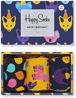 Happy Socks, Party Animal Singing Birthday Gift Box Calcetines para Mujer