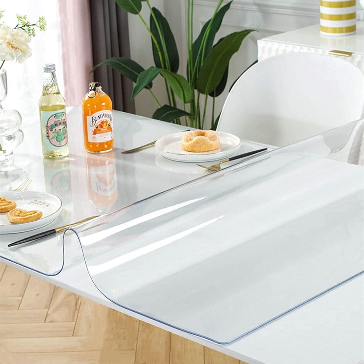 LovePads 2mm Thick 60 Popular shop is the lowest price challenge x 108 Table Dining Protecto Inches In stock Frosted
