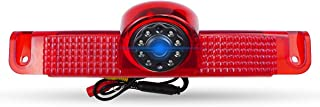 High Mount Third Brake Light Reversing Camera for Chevrolet Express GMC Savana Cargo Van 1500 2500 3500 2003-2019, Reversi... photo