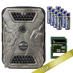 IceFox Wild-Vision Super Pack - 32 GB - Wildkamera Fotofalle