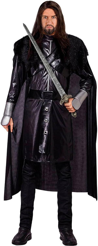 Amakando Mittelalterkostüm Krieger - XL (54) - LARP Ritterkostüm Mittelalterliche Gewandung Wikingerkostüm Barbar Game of Thrones Kostüme Schwarzer Ritter Kostüm B077QCXY2N Sehr gute Qualität     | Spielen Sie auf der ganzen Welt