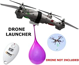 Top Race Drone Clip Remote Control Object Launcher, Release and Drop Drone Delivery (300 Feet)