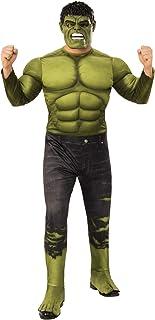 Rubie's Men's Marvel: Avengers 4 Men's Deluxe Hulk (2) Costume and Mask Adult Costume
