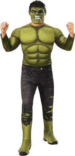 Envío rápido y el mejor servicio Rubies - Disfraz Oficial de de de Los Vengadores Endgame Hulk, para Hombre Adulto  buena calidad