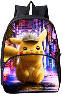 7eeddba0ae7c6e Casual Pokémon Pikachu Zaino Scuola Borse Leggero per Bambini Zaino per  Ragazzi Adolescenti Ragazze Laptop Zaino
