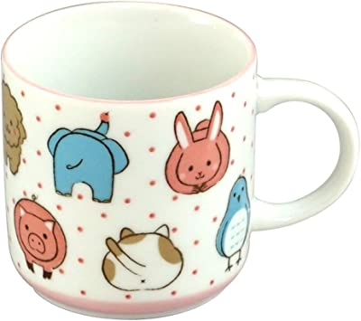 みのる陶器 アニマルフェイス マグカップ