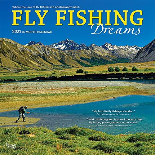 Flyfishing Dreams - Fliegenfischen 2021 - 16-Monatskalender: Original BrownTrout/Wyman Publishing-Kalender [Mehrsprachig] [Kalender] (Wall-Kalender)