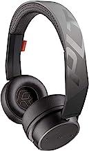 هدفون بی سیم Plantronics BackBeat FIT 500 On-Ear Sport ، هدفون بی سیم با فناوری پوشش نانو مقاوم در برابر عرق توسط P2i ، مشکی (تمدید شده)