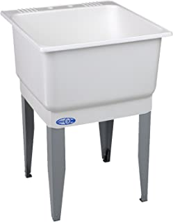 El Mustee 14 Utilatub 20 gal Floor-Mount Laundry/Utility Tub, 33 X 23 X 25