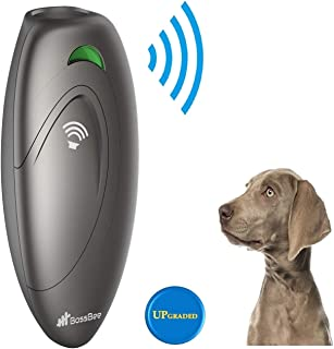 BossBee Ultrasonic barking control, Dog bark control, Bark trainer, Anti barking device, Handheld ultrasonic dog bark deterrent with Wrist Strap,No bark devices,Barking dog deterrent,Bark controller
