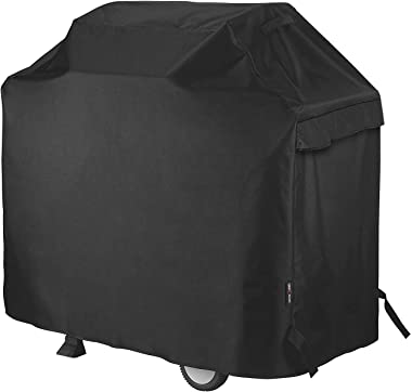 Unicook Heavy Duty Waterproof Barbecue Gas Grill Cover, Small 50-inch BBQ Cover, Special Fade and UV Resistant Material, Fits