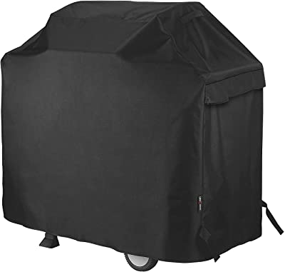 """Unicook Heavy Duty Waterproof Barbecue Gas Grill Cover, Small 50-inch BBQ Cover, Special Fade and UV Resistant Material, Fits Grills of Weber Char-Broil Nexgrill Brinkmann and More, 50""""W x 22""""D x 40""""H"""