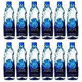 ICY BLUE Natural Spring Water, Natural weak Alkaline Bottle Water of pH7.8, 550ml 18.6 Fl Oz,Y2018 Berkley Springs International Water Tasting Gold Medal (550ml Pack of 12)