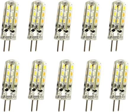 OMTO G4 1.5W LED 3014 24SMD DC12V Light Bulb 150lm 360 Beam Angle Waterproof Halogen