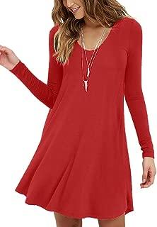 Best simple long sleeve dresses Reviews