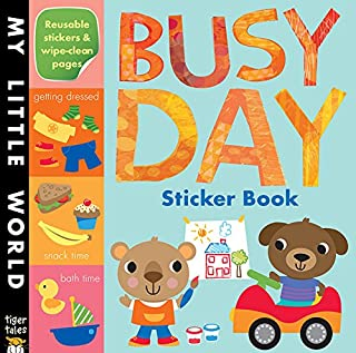 Busy Day Sticker Book (My Little World)