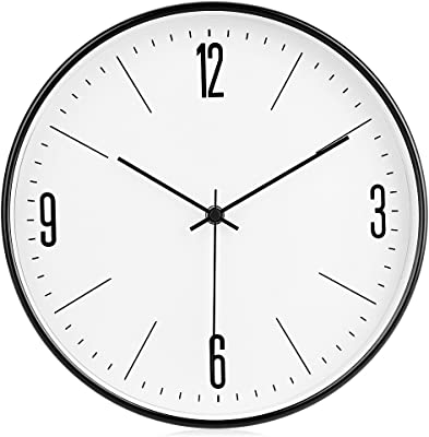 Amazon Com Plumeet Night Light Function 13 Inch Wall Clock With