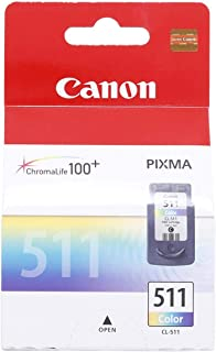 Canon Ink Cartridge - Cl-511, Multi Color