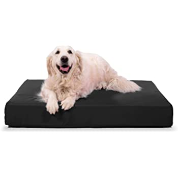 K9 Ballistics Tough Orthopedic Dog Bed Rectangle, Nearly Indestructible & Chew Proof, Chew Resistant, Small Medium & Large Ortho Pillow for Chewing Puppy