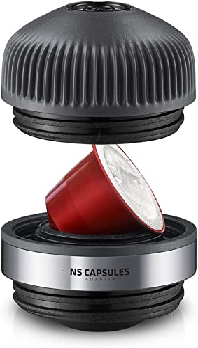 WACACO Nanopresso NS Adapter, Accessoires uniquement pour machine Nanopresso, compatible avec les capsules NS (ne con...