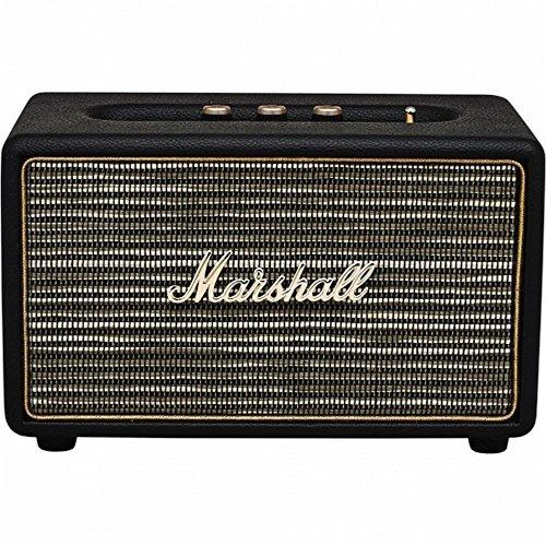 Marshall (マーシャル) Acton アクトン Bluetooth Speaker Black M-ACCS-10126[並行輸入品]