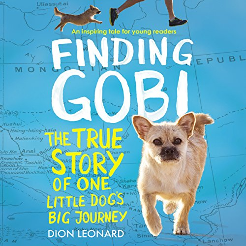 Finding Gobi: Young Reader's Edition audiobook cover art