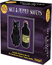 Black cat salt and Pepper Shakers Sanderson Sisters Potion Bottle And Thackery Binx The Cat, cat salt and Pepper Shakers, salt Shaker Black, Hocus Pocus Officially licensed