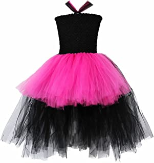 black and pink tutu dress