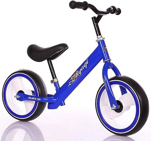 venta de ofertas HAO-JJ Carro Deslizante for Niños Carro de de de Equilibrio for el bebé Carro yo 2-6 años de Edad No pedalea Bicicleta de Dos Ruedas for Niños (Color   azul )  venta al por mayor barato