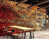 ZZXIAO Papel pintado 3D Estilo industrial de hormigón Retro Decoración moderna Hogar Dormitorio Caja Decoración Salón Decoración Fotomural sala Pared Pintado Papel tapiz no tejido-430cm×300cm