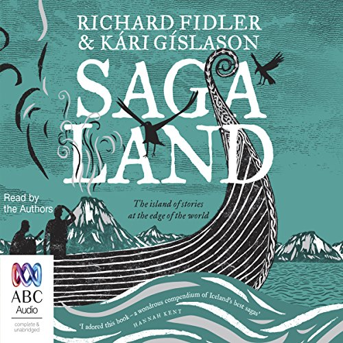 Saga Land audiobook cover art