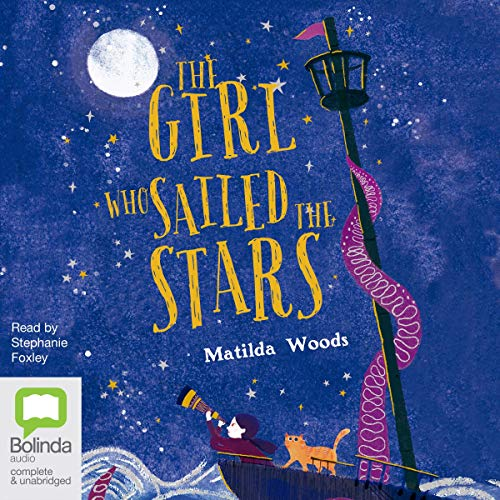 The Girl Who Sailed the Stars audiobook cover art