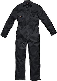 "Dickies WD4819R BK M Size Medium ""Redhawk Economy"" Coverall - Black"