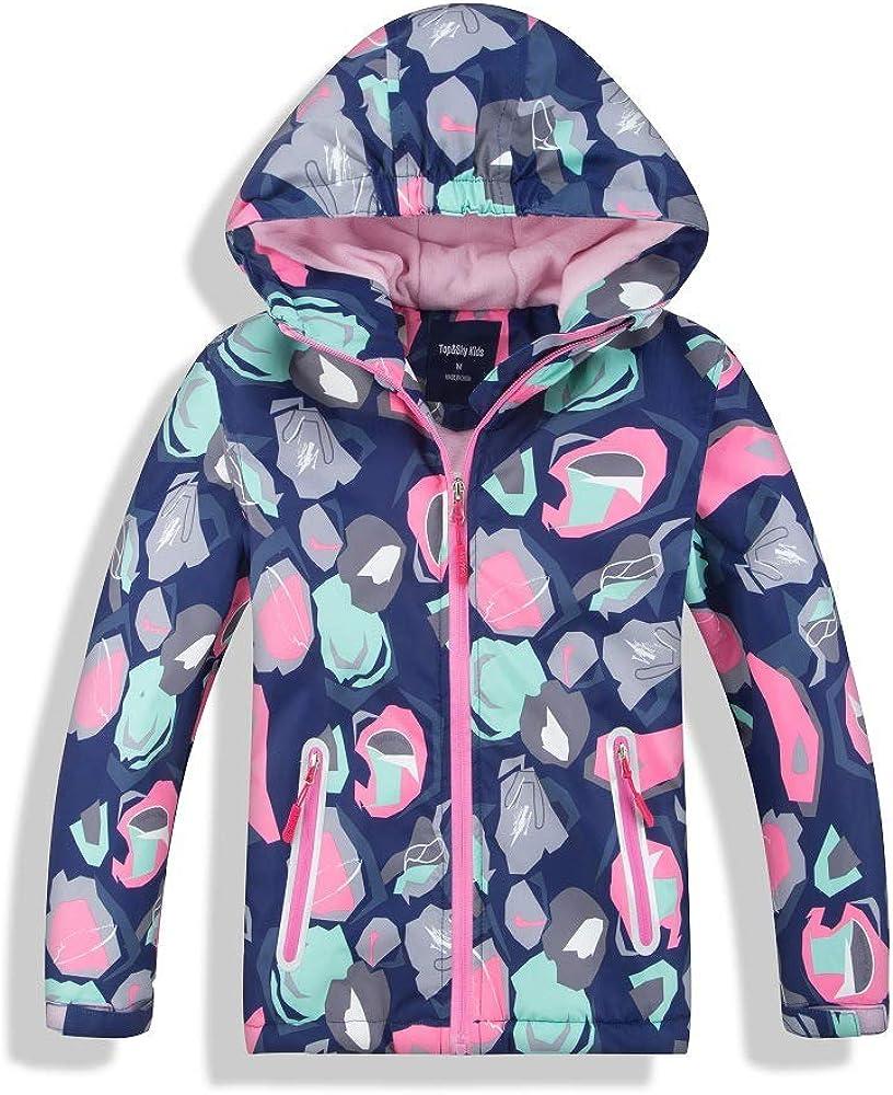 Astellarie Kids Boy Long Sleeve Lightweight Camo Printed Fleece Lined Windbreaker Jacket Age 4-12Years