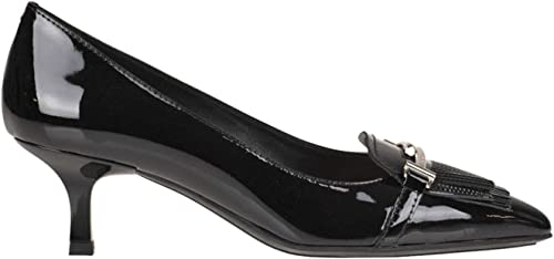 Tod's Fringed Patent-Leather Pumps Woman