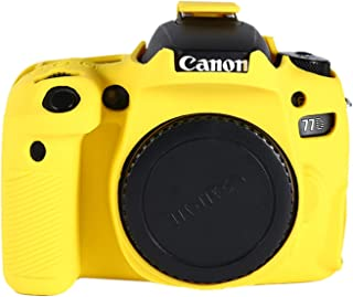 Color : Color1 XIAOMIN Soft Silicone Protective Case for Canon EOS 77D Premium Material