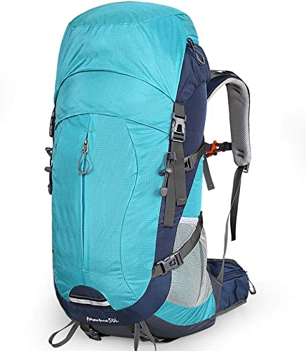 CXF@ Sac à Dos Homme Sac à Dos Sac d'alpinisme Loisir en Plein air Super Grande capacité Voyage (Taille   Bleu, Taille   40L)