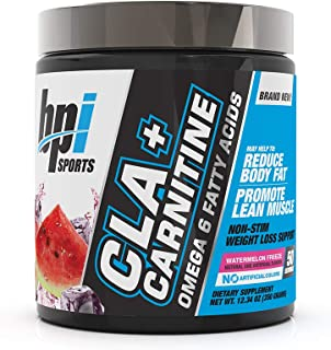 BPI Sports CLA + Carnitine – Conjugated Linoleic Acid – Weight Loss Formula – Metabolism, Performance, Lean Muscle – Caffe...
