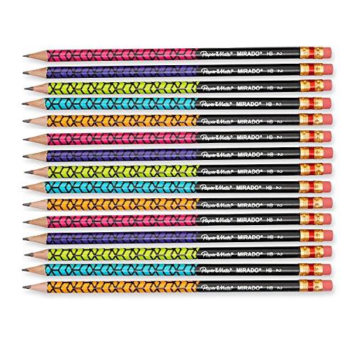 Paper Mate Mirado Classic Pencils, Assorted Colors, HB #2, 12 Count