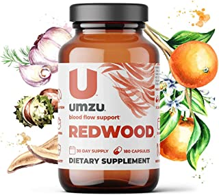 Sponsored Ad - UMZU: Redwood, Nitric Oxide Booster Capsules - 30 Day Supply - N.O. Supplement for Circulatory Support