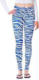 Team Tights Women's Leggings Small Navy Blue and White