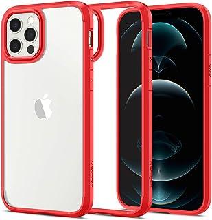 Spigen Ultra Hybrid Designed for Apple iPhone 12 Case (2020) / Designed for iPhone 12 Pro Case (2020) - Red