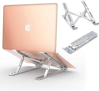 Babacom Support Ordinateur Portable Laptop Stand, Support PC Portable Ventilé en Aluminium Réglable, Refroidisseur Ergonom...