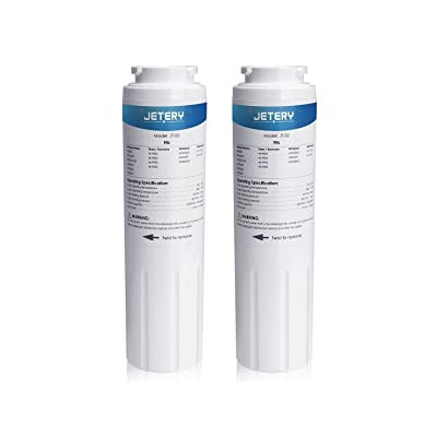 JETERY UKF8001 Refrigerator Water Filter, Compa...