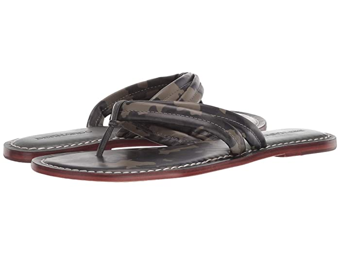 Bernardo  Miami Sandal (Camo Antique Calf Two-Tone) Womens Sandals