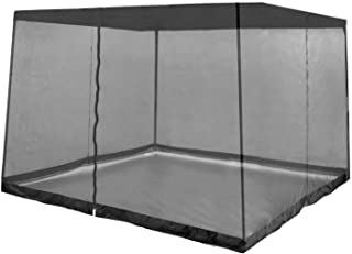 Z-Shade Bug Screen Instant Outdoor Gazebo Screenroom Only, Black