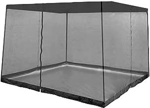 Z-Shade Bug Screen Instant Outdoor Gazebo Screenroom Only, Black