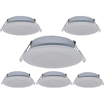 Dimmable Warm White LED Ceiling Light RV Caravan Boat Interior Down Light 12-24V
