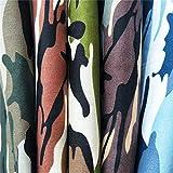 ZAIONE 5 Stück 48 cm x 48 cm Fat Quarters 100 % Baumwolle